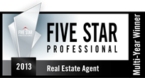 Five Star Real Estate Agent logo